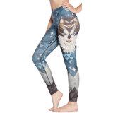 Lion печати йога спорт фитнес брюки Одежда Одежда Leggings 3043