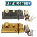 機密保護の安全なドアの縁ロックのエールタイプ縁夜ラッチ564 (HL0501)