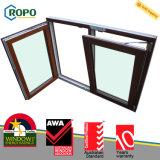 Disegno di plastica della finestra di girata di inclinazione di obbligazione UPVC di standard dell'Australia