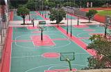 紫外線抵抗のスリップ防止バスケットボールコートの表面