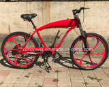 Rote Farben-Fahrrad für motorisierte Fahrräder