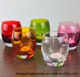 De vrije Houders van de Kaars van het Glas van de Steekproef Kleurrijke