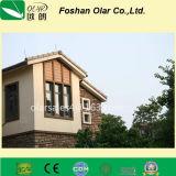 Panneau de mur de revêtement en fibre de ciment - Matériau de construction de grain de bois