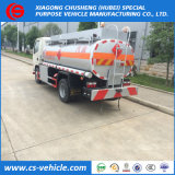 Sinotruck HOWO 4*2 5000liters 5m3容量の燃料タンクのトラック