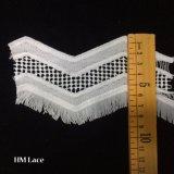 Frabicの供給を縫うアクセサリの装飾のレースのフリンジを縫うPOM POMのトリムの球のレースのフリンジのリボンDIY