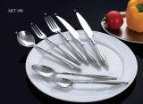 Cutelaria no. ajustado 100 dos mercadorias da tabela do aço inoxidável da alta qualidade