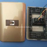 Плита стены с переключателем гнезда телефона 6p4c (W-095)