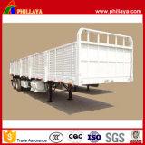 3-Axle 60t Ladung-seitliche Wand-halb Schlussteil