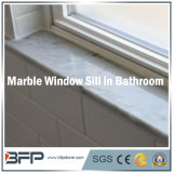 부엌 또는 목욕탕 또는 거실 Windows를 위한 우아한 백색 대리석 Windows 문턱