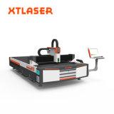 Laser para corte de metales del laser de la fibra caliente de la exportación de China, cortadora del laser de la fibra 500W para la hoja de acero de carbón