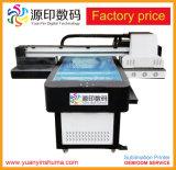 6090 공장 가격을%s 가진 기계를 인쇄하는 UV 평상형 트레일러 인쇄 기계 전화 덮개 디지털