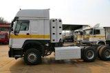 中国Sinotruck HOWOの大型トラック380 HP 6X4 CNGのトラクター