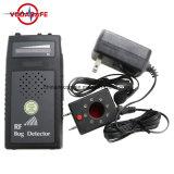 Pantalla Voice Laser-Assisted Indicación de dirección de la cámara láser contra las escuchas telefónicas Detector Detector Móvil Guía de la dirección