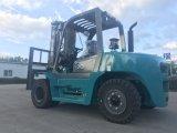 caminhão de Forklift da capacidade de 10mt Lifitng com Positioner da forquilha