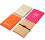 Caderno do papel de embalagem Com o conveniente pegajoso da pena da régua usar-se por seu tempo de trabalho ou de estudo