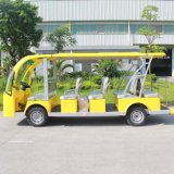 Питание от аккумуляторной батареи электрического 14 местных туристических пассажирских автомобилей (Ан-14)