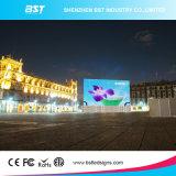 Prix extérieurs imperméables à l'eau d'écran d'Afficheur LED de la publicité extérieure de l'Afficheur LED P6 de déclaration provisoire