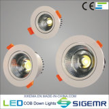 Embeded LED 옥수수 속 Downlight 5W 7W 12W