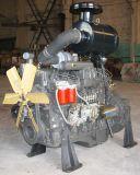 Seis cilindros refrigerado por agua180KW motor Diesel para generar