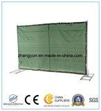 Временно загородка обшивает панелями временно панель загородки конструкции