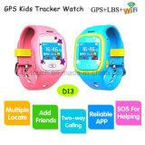 Digital/intelligente Kinder GPS-Verfolger-Uhr mit PAS und Multifunctions D13