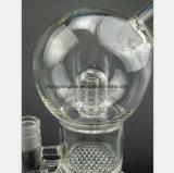 Il tubo circolare di vetro dell'olio del filtrante del tubo di fumo dell'acqua della sfera
