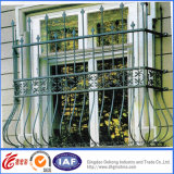 De professionele Gegalvaniseerde Omheining van het Balkon van het Ijzer voor Decoratie