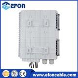 Caixa terminal da caixa 1*8 de Disturition da fibra óptica com divisor do PLC