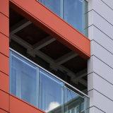 Décoratifs en aluminium pour panneau de revêtement de mur extérieur