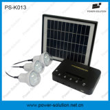Bateria do Sistema de iluminação doméstica de energia solar com carregador de telemóvel