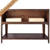 Preiswerte festes Holz-Badezimmer-Schrank-Badezimmer-Eitelkeit