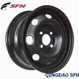 Черная стальная оправа колеса для пассажирского автомобиля (16X6.5 5/114.3)