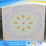 Dalle de plafond en plâtre Calorful/Belle Pattern Design Gyspum Panneau au plafond