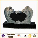 Headstone e Memeorial del granito con il piccolo orso per i bambini