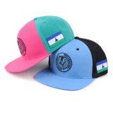 Kühle normale kundenspezifische Stickerei passen Schutzkappen-Ebenen-Hysteresen-Hüte Hysteresen-Hüteflache Bill-Hip Hop an