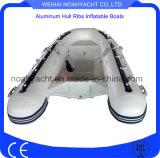 PVC /Hypalon釣のための膨脹可能なアルミニウム肋骨のボートか貨幣