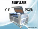 Máquina de gravura de madeira aceitada OEM do laser de China