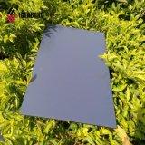 1220 mm de ancho en el techo de aluminio plateado decoración ACM