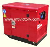 12kw générateur diesel portable de type silencieux avec CE/CIQ/Soncap/ISO