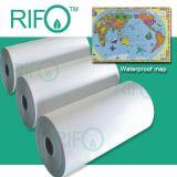 Doble revestimiento lateral PP papel sintético para la impresión offset (RPH-150-500)
