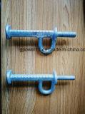 Línea apropiada de tierra tornillo eléctrico de poste de potencia del hardware del tornillo de ojo de la tierra del hardware de la máquina del paso de progresión