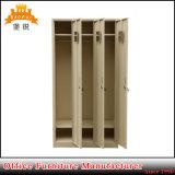De moderne Garderobe van de Slaapkamer van het Metaal van 3 Deuren