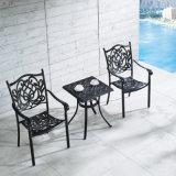 Niedriger Preis-gute Qualitätsim freienmöbel-Patio anodisierte Aluminiumstühle für Verkauf