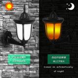 2019 Licht van de Lamp van de Lantaarn van de Decoratie van de Muur van het Gazon van Balze van de Vlam van de Kop van de Brand van het Nieuwe Product het Zonne