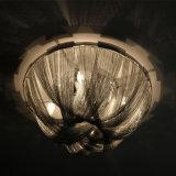 De Europese Lamp van het Plafond van de Ketting van het Aluminium van het Ontwerp Witte Decoratieve
