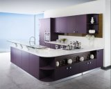 2018の卸し売りホーム家具の現代ラッカー台所家具の食器棚