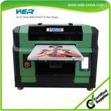 Aprobado CE Máquina Pequeño A3 LED UV Impresión Digital