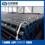 Tubo negro chino de la estructura con precio de fábrica