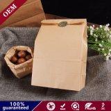 Упаковка магазинов конфеты коричневый крафт-бумаги продовольственной мешки Свадебный день рождения Рождество расходных материалов
