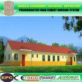 Vorfabriziertes bewegliches Haus-schnelles Gebäude-Fertighäuser für Südafrika